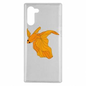 Samsung Note 10 Case Goldfish