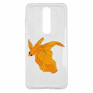Nokia 5.1 Plus Case Goldfish