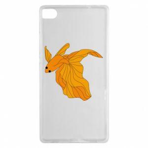 Huawei P8 Case Goldfish