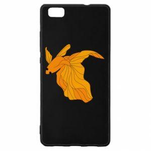 Huawei P8 Lite Case Goldfish