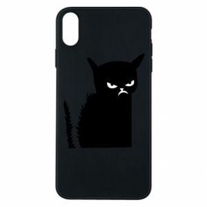 Etui na iPhone Xs Max Zły kot