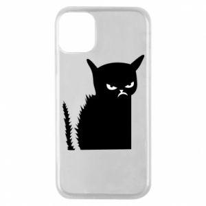 Etui na iPhone 11 Pro Zły kot