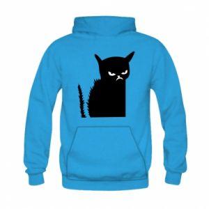 Bluza z kapturem dziecięca Zły kot