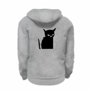 Bluza na zamek dziecięca Zły kot