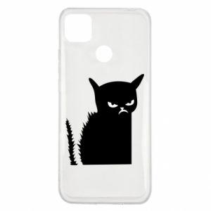 Etui na Xiaomi Redmi 9c Zły kot
