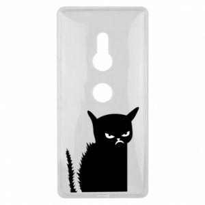 Etui na Sony Xperia XZ2 Zły kot