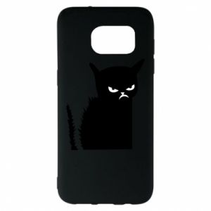 Etui na Samsung S7 EDGE Zły kot