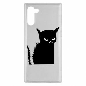 Etui na Samsung Note 10 Zły kot