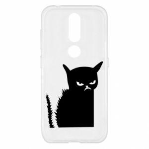 Etui na Nokia 4.2 Zły kot