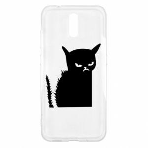 Etui na Nokia 2.3 Zły kot
