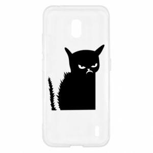 Etui na Nokia 2.2 Zły kot