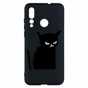 Etui na Huawei Nova 4 Zły kot