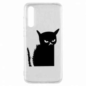 Etui na Huawei P20 Pro Zły kot