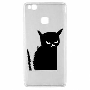 Etui na Huawei P9 Lite Zły kot