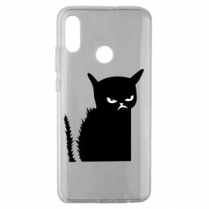 Etui na Huawei Honor 10 Lite Zły kot