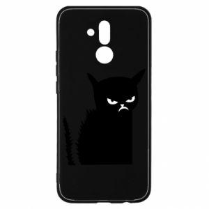 Etui na Huawei Mate 20 Lite Zły kot
