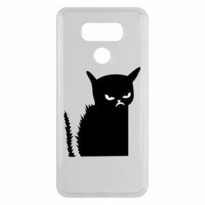 Etui na LG G6 Zły kot