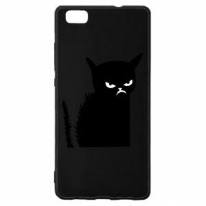 Etui na Huawei P 8 Lite Zły kot