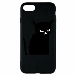 Etui na iPhone SE 2020 Zły kot