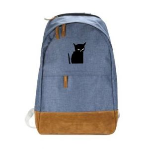 Urban backpack Angry cat