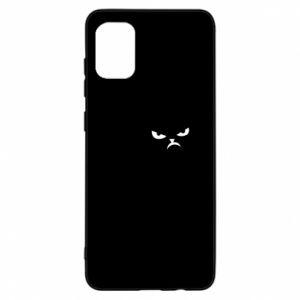 Etui na Samsung A31 Zły kot