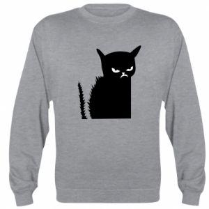 Sweatshirt Angry cat