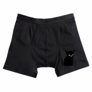 Boxer trunks Angry cat