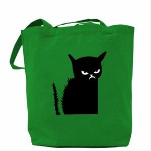 Bag Angry cat
