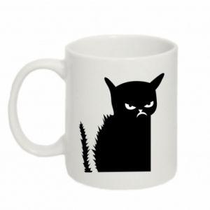 Mug 330ml Angry cat