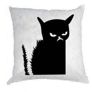 Poduszka Zły kot