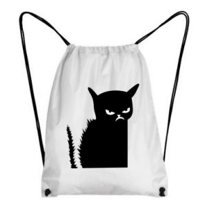 Backpack-bag Angry cat