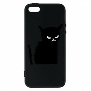 Etui na iPhone 5/5S/SE Zły kot