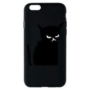 Etui na iPhone 6/6S Zły kot