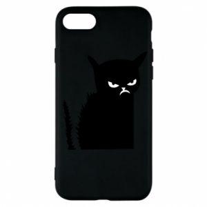 Etui na iPhone 7 Zły kot