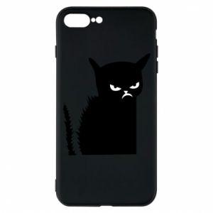 Etui na iPhone 8 Plus Zły kot