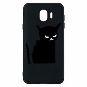 Etui na Samsung J4 Zły kot