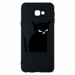 Etui na Samsung J4 Plus 2018 Zły kot