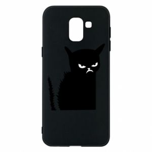 Etui na Samsung J6 Zły kot