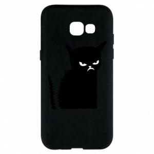 Etui na Samsung A5 2017 Zły kot