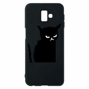 Etui na Samsung J6 Plus 2018 Zły kot