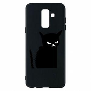 Etui na Samsung A6+ 2018 Zły kot