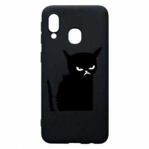 Etui na Samsung A40 Zły kot