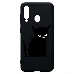 Etui na Samsung A60 Zły kot