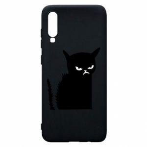 Etui na Samsung A70 Zły kot