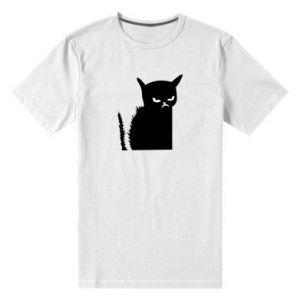 Koszulka premium męska Zły kot