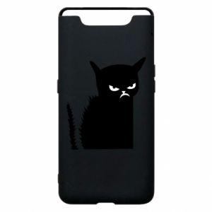 Etui na Samsung A80 Zły kot