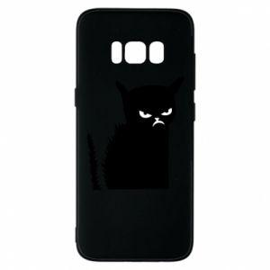 Etui na Samsung S8 Zły kot