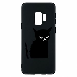Etui na Samsung S9 Zły kot