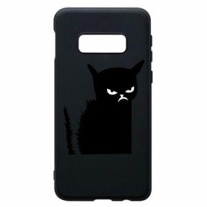 Etui na Samsung S10e Zły kot