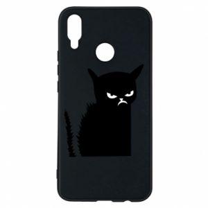 Etui na Huawei P Smart Plus Zły kot